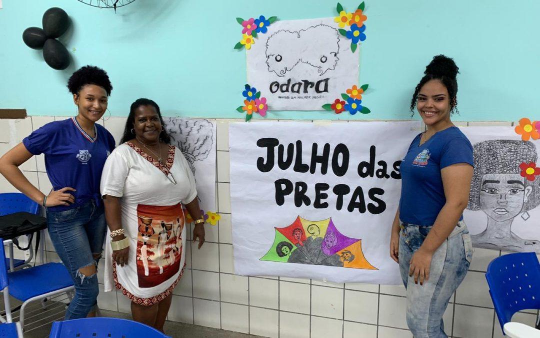 MAIS DE 20 ESCOLAS DE SALVADOR REALIZAM AÇÕES NESTE JULHO DAS PRETAS