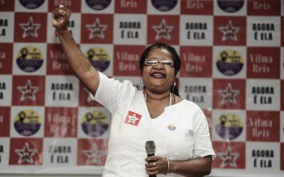 """""""Nós não somos contra e não vamos nos colocar contrarias a nenhuma mulher negra"""", diz Vilma Reis sobre disputa interna no PT da Bahia"""