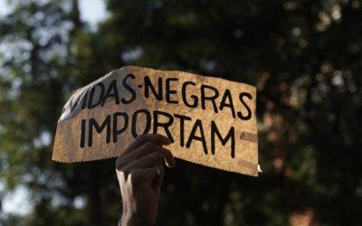 Atos antirracistas: imprensa cobre lá fora, mas apaga racismo no Brasil