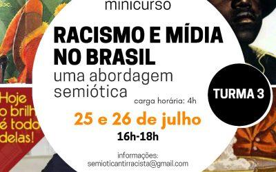 Minicurso sobre Semiótica e Racismo na Mídia Brasileira abre inscrições para nova turma