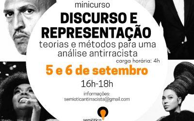 Minicurso discute Discurso e Representação sob uma perspectiva antirracista