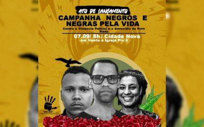 Fórum de Entidades Negras de Sergipe promove ato pelo fim do genocídio do povo preto
