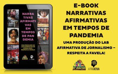Vem conferir nosso e-book resultado do Lab Afirmativa de Jornalismo