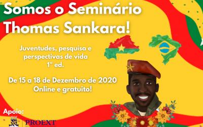 Seminário sobre Thomas Sankara discute a construção do Brasil a partir de perspectivas revolucionárias africanas