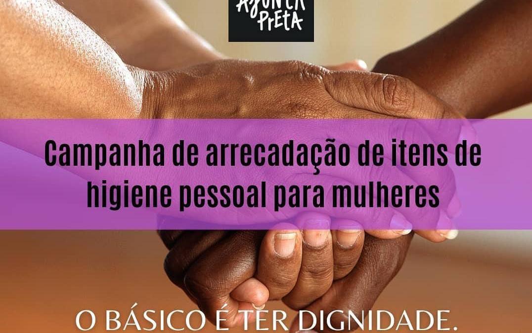 Movimentos de Mulheres Negras do Tocantins realizam campanha de solidariedade a mulheres em vulnerabilidade social em Palmas