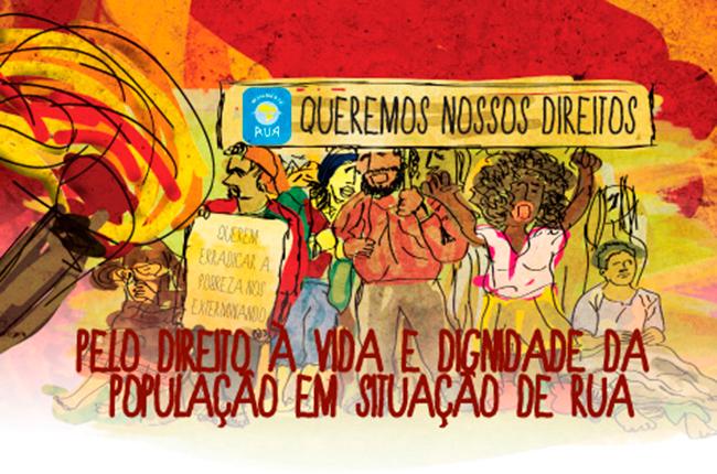 Movimento Nacional da População de Rua exige transparência em projeto de política pública