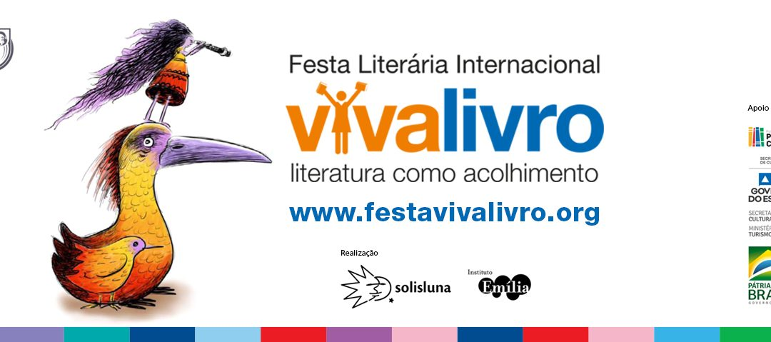 Festa Literária Internacional VivaLivro apresenta a literatura como espaço de acolhimento e reflexão sobre a diversidade