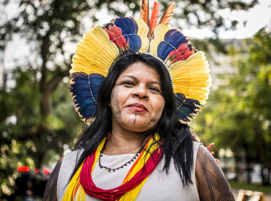 Justiça Federal determina arquivamento do inquérito contra a líder indígena Sônia Guajajara