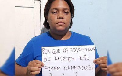 Mãe de Menino Miguel não é informada de audiência com testemunha do caso da morte de seu filho