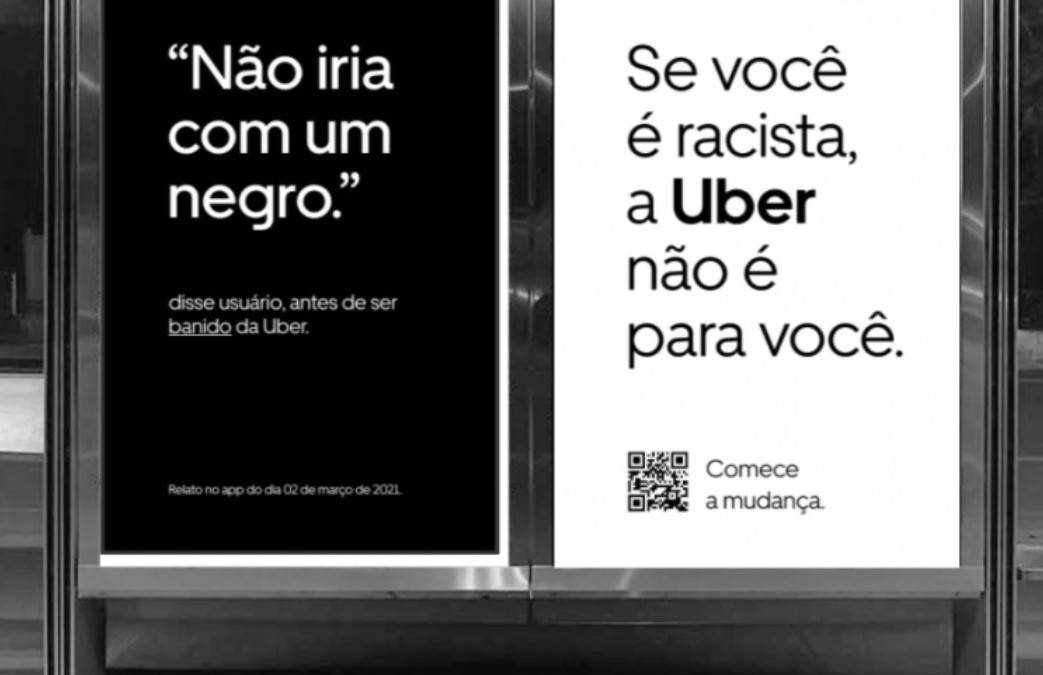 Uber lança campanha para combater racismo na plataforma