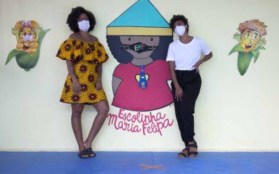Referência em educação antirracista e decolonial, Escolinha Maria Felipa oferta aulas para crianças de outros estados