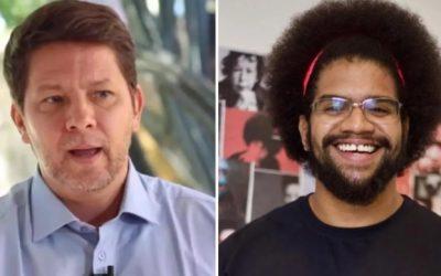 Ministro Mário Frias faz comentário racista sobre o ativista negro Jones Manoel