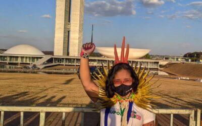 ENTREVISTA: Relatos de uma jovem indígena baiana em Brasília lutando contra o marco temporal